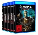Freitag der 13. - Teil 1+2+3+4+5+6+7+8+Killer Cut im Set (Blu-ray)