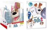 Pets 1 - Limited Edition mit Plüschhund + Pets 2 im Set (DVD)