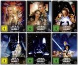 Star Wars: Episode 1+2+3+4+5+6 im Set - Steelbook Edition (Blu-ray)