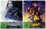 Rogue One + Solo im Set - A Star Wars Story - Steelbook Edition (Blu-ray)