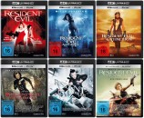 Resident Evil 1+2+3+4+5+6 im Set - 4K Ultra HD Blu-ray + Blu-ray (4K Ultra HD)