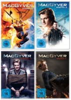 MacGyver - Staffel 1+2+3+4 im Set (DVD)