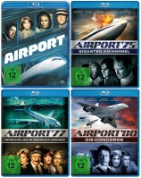 Airport Collection - 4 Movie-Set / Airport 70 + 75 + 77 + 80 (Blu-ray)