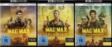 Mad Max Trilogy (Teil 1 + 2 - Der Vollstrecker + 3 - Jenseits der Donnerkuppel) im Set - 4K Ultra HD Blu-ray + Blu-ray (4K Ultra HD)