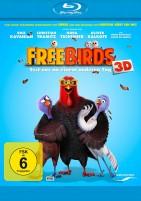 Free Birds 3D - Esst uns an einem anderen Tag - Blu-ray 3D + 2D (Blu-ray)