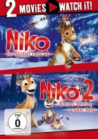 Niko - Ein Rentier hebt ab & Niko 2 - Kleines Rentier, großer Held - 2 Movies (DVD)