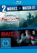 Shark Night 2D & Bait 3D - Haie im Supermarkt - Blu-ray 3D + 2D  (Blu-ray)