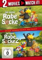 Der kleine Rabe Socke & Der kleine Rabe Socke 2 - Das große Rennen - 2 Movies (DVD)