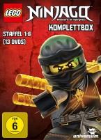 LEGO Ninjago: Masters of Spinjitzu - Komplettbox / Staffel 1-6 (DVD)