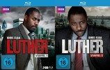 Luther - Staffel 01+02 (Blu-ray)