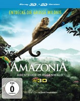 Amazonia - Abenteuer im Regenwald - Blu-ray 3D + 2D (Blu-ray)
