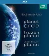 Planet Erde & Frozen Planet & Unser Blauer Planet - Die Gesamtedition (Blu-ray)