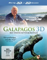 Galapagos 3D - Mit David Attenborough - Blu-ray 3D + 2D (Blu-ray)