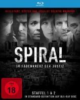 Spiral - Staffel 01+02 / SD on Blu-ray (Blu-ray)