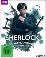 Sherlock - Staffel 04 / Steelbook (Blu-ray)