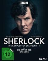 Sherlock - Staffel 01-04 & Die Braut des Grauens (Blu-ray)
