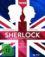 Sherlock - Staffel 01-04 & Die Braut des Grauens / Limited Edition (Blu-ray)