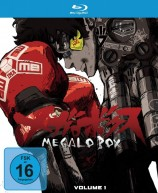 Megalo Box - Volume 1 / Limitierte Edition mit Sammelschuber (Blu-ray)