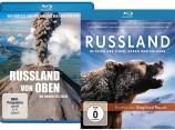 Russland von oben - Die komplette Serie & Russland - Im Reich der Tiger, Bären und Vulkane (Blu-ray)