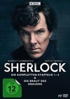 Sherlock - Staffel 01-04 & Die Braut des Grauens (DVD)