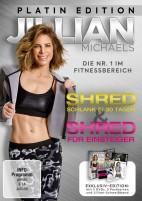 """Jillian Michaels - Shred - Schlank in 30 Tagen"""" und """"Shred für Einsteiger - Platin Edition (DVD)"""