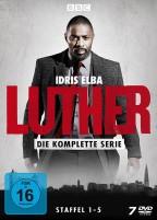 Luther - Staffel 1-5 (DVD)