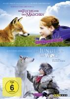 Der Fuchs und das Mädchen & Der Junge und der Wolf (DVD)