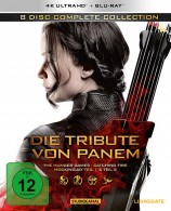 Die Tribute von Panem - Gesamtedition / 4K Ultra HD Blu-ray + Blu-ray (4K Ultra HD)