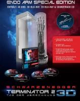 Terminator 2 - Tag der Abrechnung - 4K Ultra HD Blu-ray + Blu-ray 3D + 2D + Soundrack / Endoarm Edition ACHTUNG: Verpackung leicht beschädigt und keine Limitierungsnummer! (4K Ultra HD)