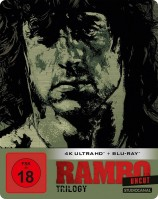 Rambo Trilogy - 4K Ultra HD Blu-ray + Blu-ray / Steelbook (4K Ultra HD)