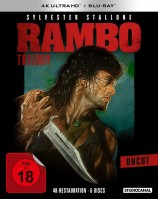 Rambo Trilogy - 4K Ultra HD Blu-ray + Blu-ray (4K Ultra HD)