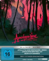Apocalypse Now - Limited 40th Anniversary Steelbook Edition / 4K Ultra HD Blu-ray + Blu-ray (4K Ultra HD)