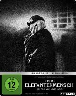 Der Elefantenmensch - 4K Ultra HD Blu-ray + Blu-ray / Limited Steelbook (4K Ultra HD)