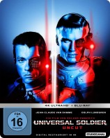 Universal Soldier - Uncut / Limited SteelBook Edition / 4K Ultra HD Blu-ray + Blu-ray (4K Ultra HD)