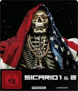 Sicario 1&2 - Limited Steelbook (Blu-ray)