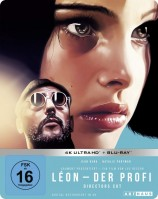 Léon - Der Profi - 4K Ultra HD Blu-ray + Blu-ray / Limited 25th Anniversary Steelbook Edition (4K Ultra HD)