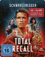 Total Recall - 4K Ultra HD Blu-ray + Blu-ray / Uncut / Limited Steelbook Edition (4K Ultra HD)