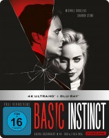 Basic Instinct - 4K Ultra HD Blu-ray + Blu-ray / Limited Steelbook Edition (4K Ultra HD)