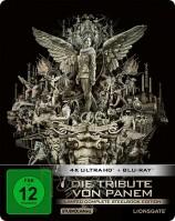 Die Tribute von Panem - Limited Complete Steelbook Edition / 4K Ultra HD Blu-ray + Blu-ray (4K Ultra HD)