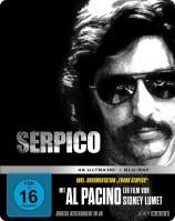 Serpico - 4K Ultra HD Blu-ray + Blu-ray / Limited Steelbook Edition (4K Ultra HD)