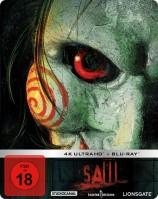 SAW - 4K Ultra HD Blu-ray + Blu-ray / Limited Steelbook Edition (4K Ultra HD)