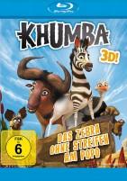 Khumba 3D - Das Zebra ohne Streifen am Popo - Blu-ray 3D + 2D (Blu-ray)