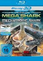 Mega Shark vs. Mechatronic Shark - Blu-ray 3D + 2D (Blu-ray)