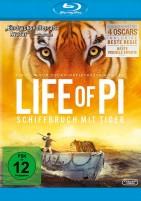 Life of Pi - Schiffbruch mit Tiger (Blu-ray)