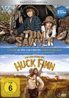 Tom Sawyer & Die Abenteuer des Huck Finn - Limitierte Abenteuer-Box (DVD)