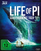 Life of Pi - Schiffbruch mit Tiger 3D - Blu-ray 3D + 2D (Blu-ray)
