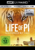 Life of Pi - Schiffbruch mit Tiger - 4K Ultra HD Blu-ray + Blu-ray (Ultra HD Blu-ray)
