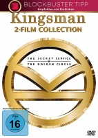 Kingsman 1+2 (DVD)