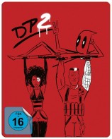Deadpool 2 - Super Duper Cut + Kinofassung / Steelbook (Blu-ray)