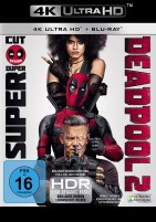 Deadpool 2 - 4K Ultra HD Blu-ray + Blu-ray / Super Duper Cut + Kinofassung (4K Ultra HD)
